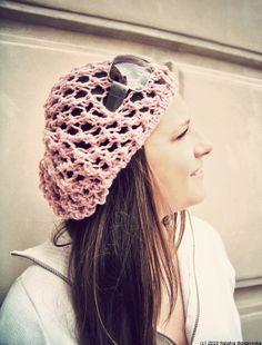 Pink Slouchy Beanie Hat, Spring Hat, Summer Hat, Slouchy Hat, Bohemian Hat, Womens Hat, Floral Rose Blush, Slouch Beanie, ohtteam theteam