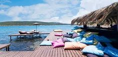 Never knew Turkey was so pretty. Republic Of Turkey, Beach Club, Outdoor Furniture, Outdoor Decor, Sun Lounger, Hammock, Beach Mat, Places To Go, Outdoor Blanket