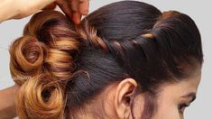 latest Party hairstyle 2019 for girls Hair Style Girl Cute Wedding Hairstyles, Easy Party Hairstyles, Faux Locs Hairstyles, Cool Hairstyles For Girls, Work Hairstyles, Creative Hairstyles, Hairstyles With Bangs, Trendy Hairstyles, Hairstyle Short