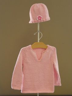 Baby Pullover & Hat