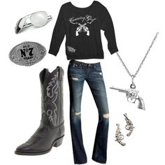 Shooter 3 by southernsammy on Polyvore ~~country fashion~~