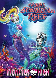 Monster High: Great Scarrier Reef (2016) - At a Monster High party, Lagoona and pals are sucked into the reef, where she'll have to come to terms with her flaws and confront an old frenemy.