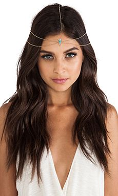 House of Harlow Hera's Headpiece in Gold