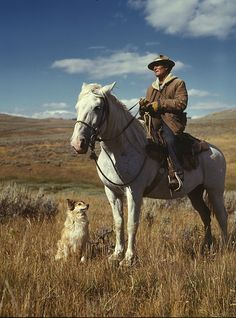 No Known Restrictions: Shepherd with his Horse and Dog by Russell Lee, 1942 (LOC) by pingnews.com, via Flickr