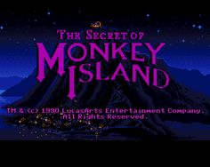 The Secret of Monkey Island Review | Gaming With Scissors. One of the greatest adventure games ever made.