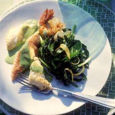 Bärlauchgemüse mit Fisch | BRIGITTE.de