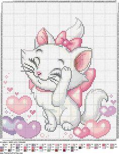 patrones punto de cruz solo felinos (pág. 37) | Aprender manualidades es facilisimo.com
