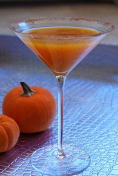 Pumpkin Spiced Martini
