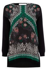 Look what I found at House of Fraser Bohemian Tops, Bohemian Print, Boho Fashion, Womens Fashion, Top Pattern, Paisley Print, Black Tops, Long Sleeve Tops, My Style