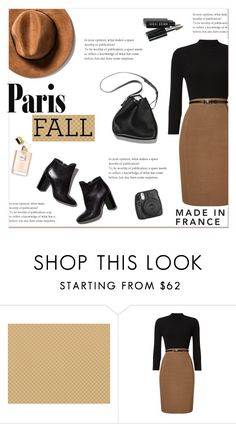""""""".Paris in the Fall."""" by ladydzsen ❤ liked on Polyvore featuring Thibaut, Phase Eight, Pierre Hardy, Fujifilm and fallgetaway"""