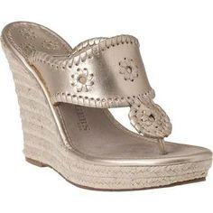 Women's Designer Shoes - Stuart Weitzman, Marc Jacobs & Tory Burch Womens Shoes at Jildor Jack Rogers Shoes, Flat Boots, Metallic Leather, Stuart Weitzman, Designer Shoes, Heeled Mules, Tory Burch, Espadrilles, Shoe Bag