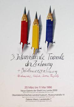 FB / Internationale Triennale der Zeichnung (Kurztitel) Entstehung / Datierung: Anonym, Entwurf Anonym, Ausführung, 1986