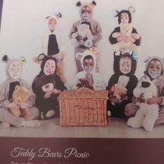 Dancers, Picnic, Teddy Bear, Frame, Home Decor, Picture Frame, Decoration Home, Room Decor, Dancer