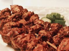 """What is Peri Peri? Originated from the peppers of South Africa and later imported to Portugal—the word """"peri peri"""" is referred to as """"hot or spicy"""" sauce in Portugal. Spicy Sauce, Kabobs, Beef, Stuffed Peppers, Chicken, Hot, Meat, Skewers, Kabob"""
