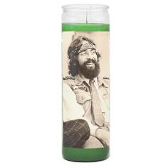 Light a candle in homage to the great Tommy Chong. All of our prayer candles are unscented, hand wrapped and make the perfect addition to the household altar. Show your guests who the real idols are. Dave's Not Here Man, Oakland Raiders Wallpapers, Saint Candles, Cheech And Chong, Light My Fire, Make Me Happy, Comedians, Prayers, Cinema