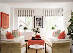 I like how this room works - it's a look that can be easily achieved by an interior design novice!
