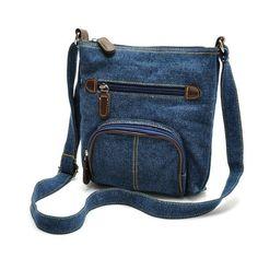 YBYT brand 2017 new casual blue denim handbag hotsale women shopping coin purse pack lady joker shoulder messenger crossbody bag