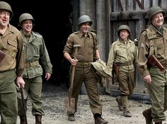 """The Monuments Men,"" are you kidding!  All these guys in one movie, and World War II and Art Restoration . . .   I'm there."