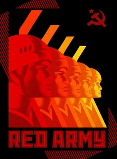 Cannes Film Festival poster – and equally fine promotional postcards that you can see below – for Red Army as directed by Gabe Polsky (USA, The designer: La Boca Graphic Design Typography, Graphic Design Illustration, Aviation Logo, Russian Constructivism, Protest Posters, Soviet Art, Blu Ray, Red Army, Dieselpunk