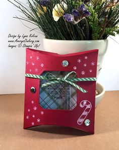 Stampin Up  Square Pillow Box AverysOwlery.com