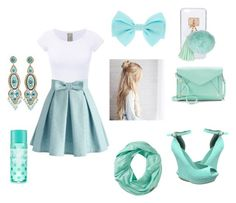 """""""R.P.A.G.#11 Sea Foam Green"""" by elizagregorio on Polyvore featuring Chicwish, Apt. 9, Ashlyn'd, Miguel Ases and Smartwool"""