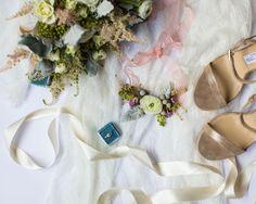 DIY Floral Garter