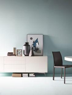 Boconcept, Inspiration Wall, Interior Inspiration, Interior Ideas, Interior House Colors, Interior Design, Modern Sideboard, Desk Setup, Blue Rooms