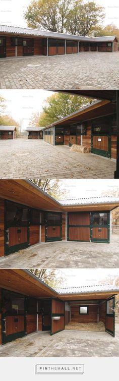 Outdoor stables | Röwer & Rüb - created via http://pinthemall.net