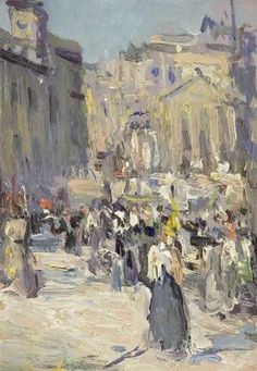 John Duncan Fergusson, A Busy Day