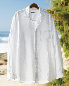 The Great White Linen Shirt