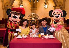 東京ディズニーシーのレストラン「マゼランズ」の部屋を貸し切って、ディズニーキャラクターたちと素敵なひとときを♪