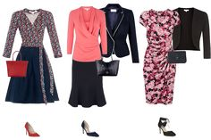 Smart outfits for an Hourglass shaped woman
