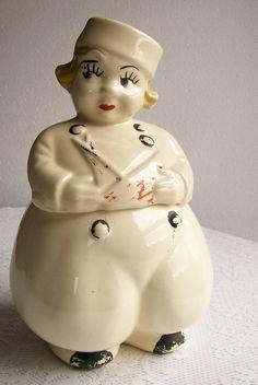 Vintage Antique Cookie Jar Dutch Boy Circa 1940s
