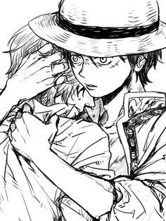 Monkey D Luffy Sanji Vinsmoke Strawhat Pirates Mugiwaras One Piece Watch One Piece, One Piece World, One Piece Ship, One Piece Comic, One Piece Fanart, One Piece Drawing, One Piece Manga, One Piece Pictures, Sad Pictures