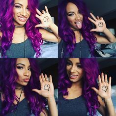 Sasha Banks Proudly supporting @Titusoneilwwe w/the #PayItForwardDay Campaign 2Encourage 10Million to #Stand4Kindness Join us by posting a pic w❤️ on your hand! Let's see those pic #onelove #payitforward