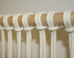 basic macrame knot - myfrenchtwist.com