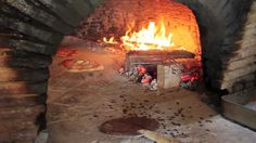 ~*~I LOVE THIS~*~ Old School Wood Fired Oven Cooking