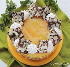 Tort cu ananas Acai Bowl, Camembert Cheese, Birthday Cake, Sweets, Breakfast, Desserts, Pies, Men, Acai Berry Bowl