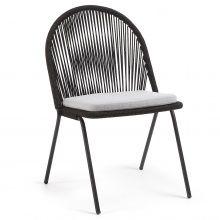 Krzesło Stad 85 cm czarne Outdoor Chairs, Outdoor Furniture, Outdoor Decor, Plastic, Design, Home Decor, Products, Decoration Home, Room Decor