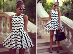 Find More Dresses Information about 2014 New Fashion Black and White Chevron Dress Women's Dress Sleeveless Dress LQ4494,High Quality dress tattoo,China dresse Suppliers, Cheap dress hit from Honey Co. Ltd. on Aliexpress.com