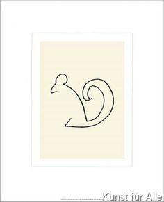 Pablo Picasso - Das Eichhörnchen