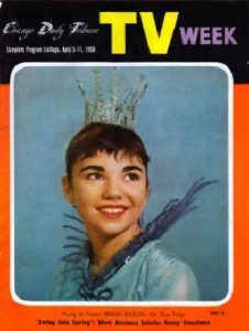 """Brigid Bazlen, age 14, as the Blue Fairy on WGN-TV, 1958 """"We all hope, but hope comes in two flavors- hoping for something and hoping in someone.""""- John Ortberg, Know Doubt In a moment, in the twinkling of an eye, at the last trump: for the trumpetshall sound, and the deadshall..."""