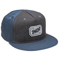 Thor Hux Snap Back Cap - Indigo Charcoal