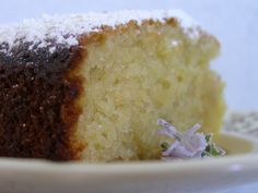 Rosemary and Lemon Olive Oil Cake, The Free Haircut, and Enchanted Fig's Designer Makeover Lemon Olive Oil Cake, Free Haircut, Cornbread, Fig, Hair Cuts, Pudding, Menu, Baking, Ethnic Recipes