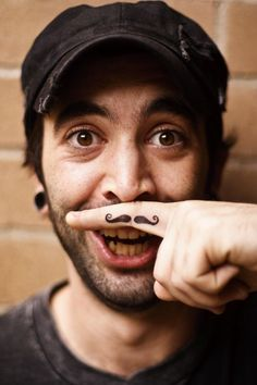 25 Moustache Tattoos for Movember