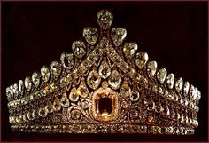 Romanov (Russian) Imperial Wedding Tiara