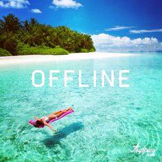 www.trippics.com   Por uma vida com mais dias offline! #frase #viagem #travel