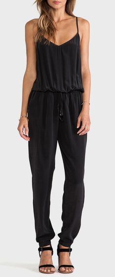 Gypsy 05 Tapered Jumpsuit in Black
