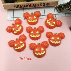 Find More Figurines & Miniatures Information about Free Shipping! Resin Pumpkin Mouse,  Resin Flatback Cabochons for Phone Decoration, Hair Bow Center, Scrapbooking,DIY (17*22mm),High Quality mouse mouse,China cabochon flatback Suppliers, Cheap cabochon resin flatback from October (Min. order is $10, mix order) on Aliexpress.com