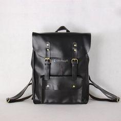 1202 lightweight leather backpack backpacks for college mens backpacks